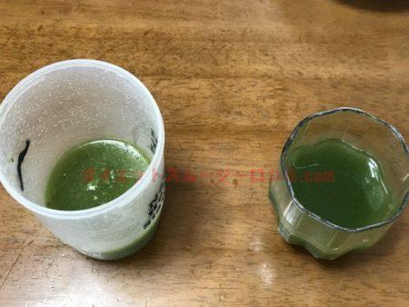 グリーンスムージー フルーツ青汁 どっち