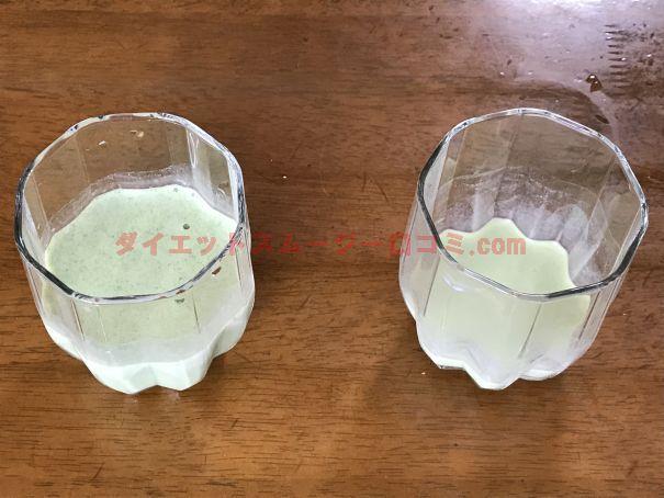 ミネラル酵素グリーンスムージーの美味しい飲み方は?牛乳や豆乳を試してみた